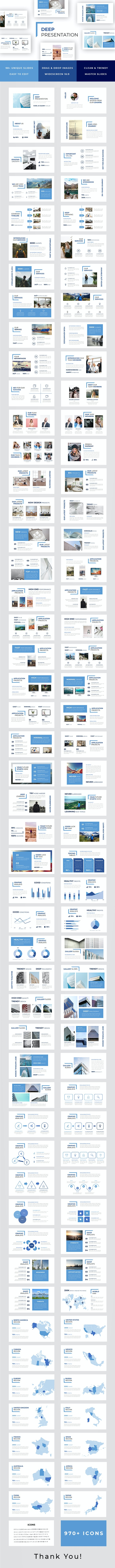 Deep Powerpoint Template - PowerPoint Templates Presentation Templates