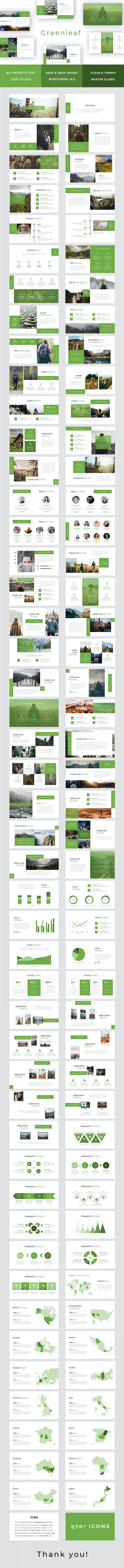 Greenleaf Powerpoint Template - PowerPoint Templates Presentation Templates
