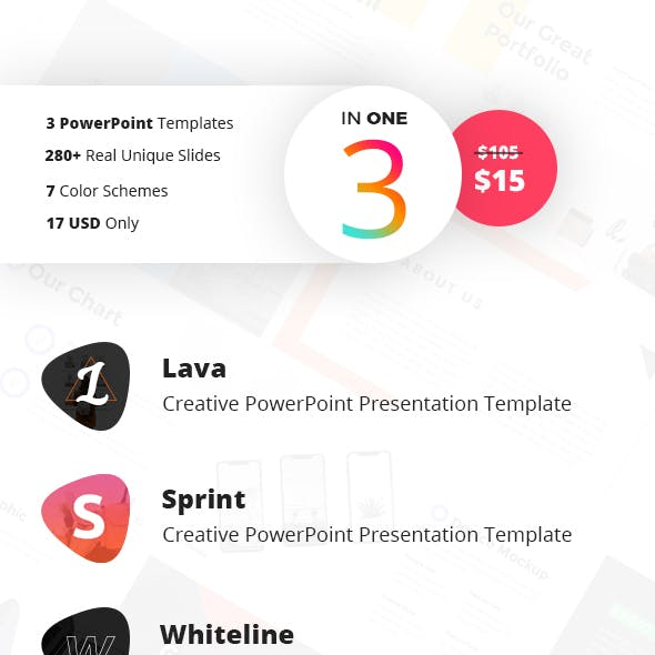 The Triple Bundle PowerPoint Vol 8