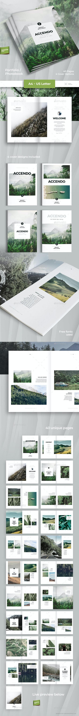 Accendo - Portfolio / Photobook / Brochure / Catalog - 40 Pages - A4 and Letter - Portfolio Brochures