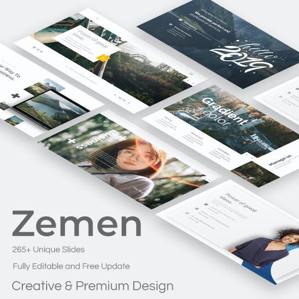 Zemen Premium Keynote Template