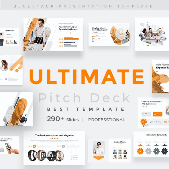 Ultimate Goal Pitch Deck Keynote Template