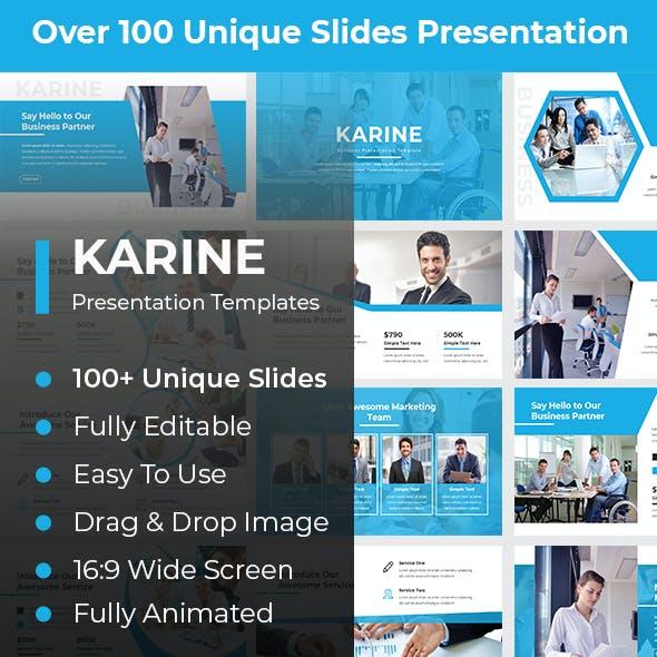 Karine Business PowerPoint