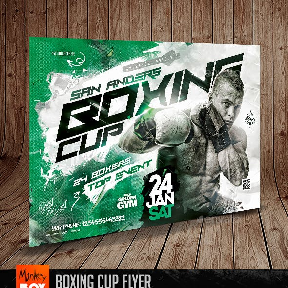 Boxing Cup Flyer