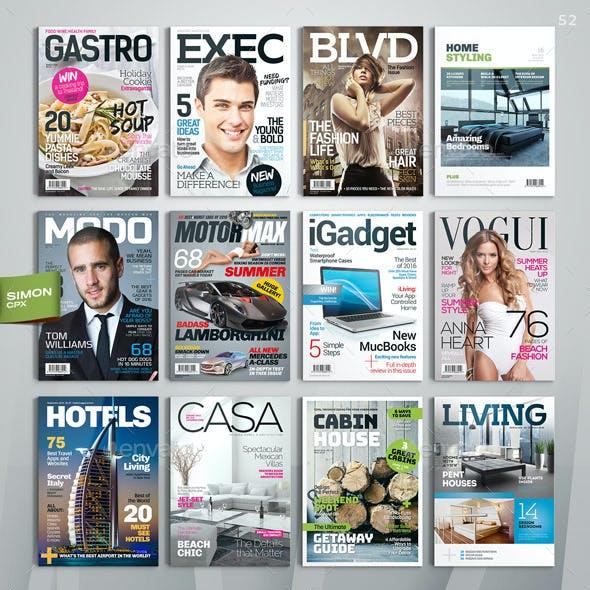 Magazine Covers Bundle Vol. 1-2-3