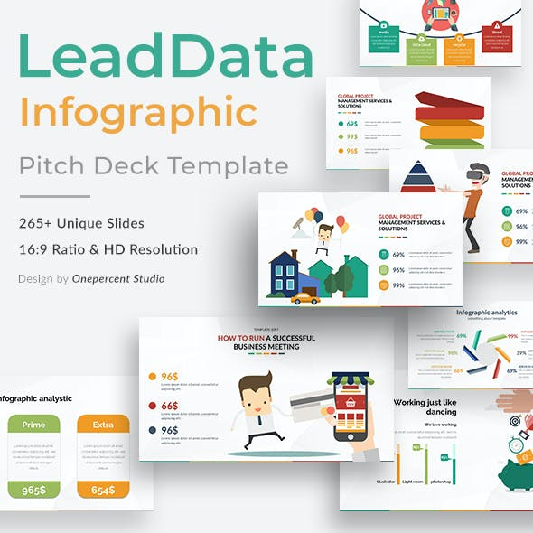 LeadData Infographic Pack Keynote Template