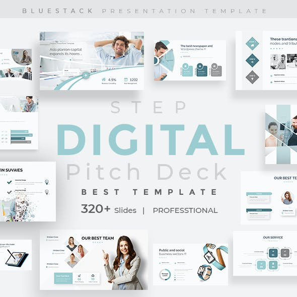 Digital Step Pitch Deck Google Slide Template
