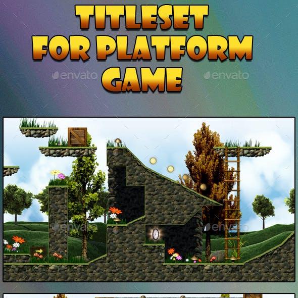 Tileset Platform Game 2D