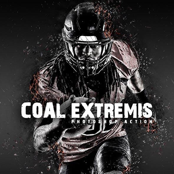 Coal Extremis Photoshop Action