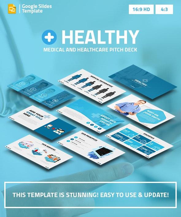 Healthy - Medical and Healthcare Google Slides Pitch Deck - Google Slides Presentation Templates