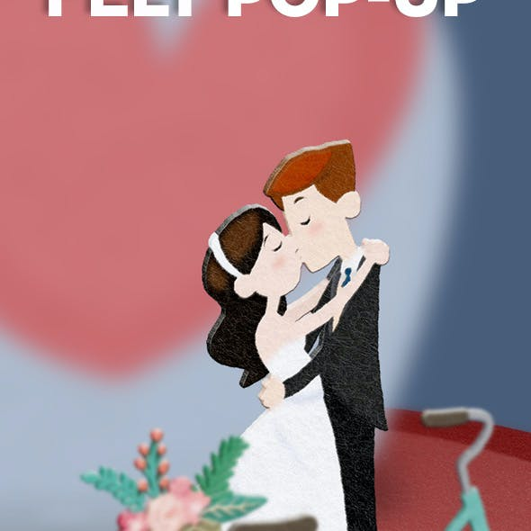 Felt Pop-up