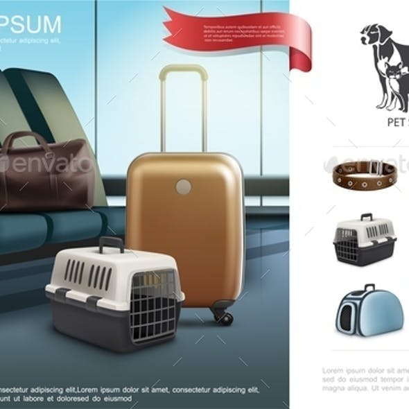 Realistic Travel With Pets Template
