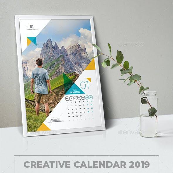 Creative Calendar 2019