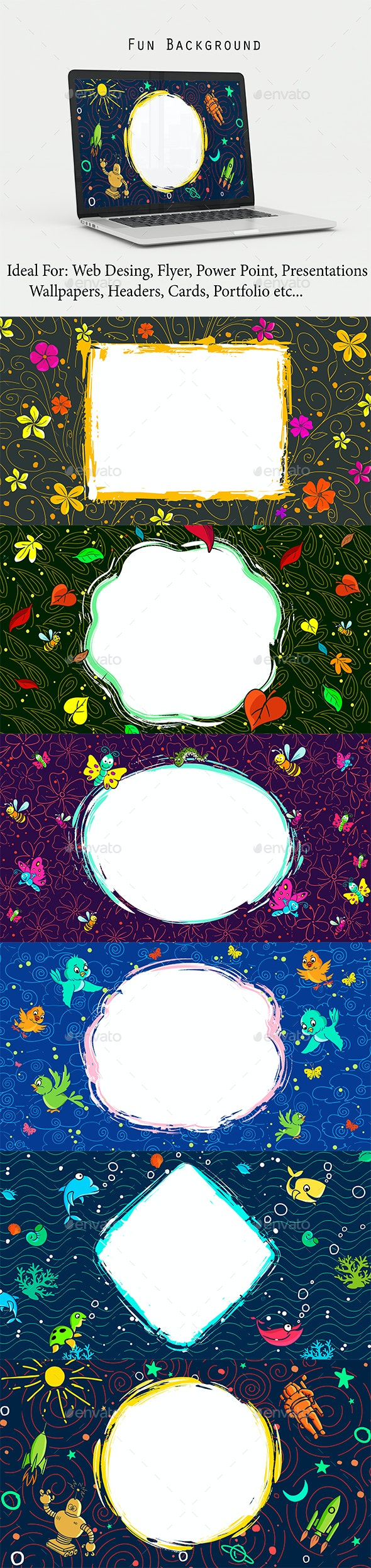 Fun Background - Abstract Backgrounds