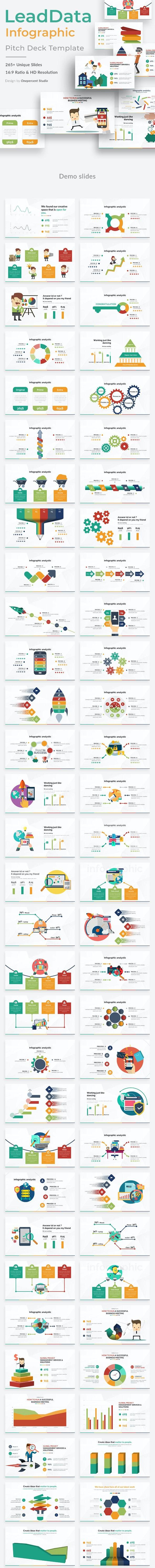LeadData Infographic Pack Google Slide Template - Google Slides Presentation Templates