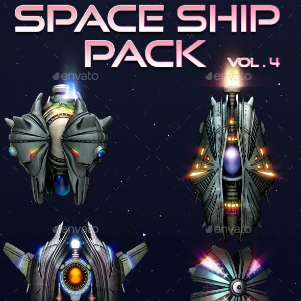 Space Ship Pack Vol 4