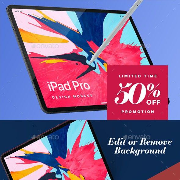 Pad Pro Design Mockup