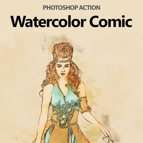 Watercolor Comic