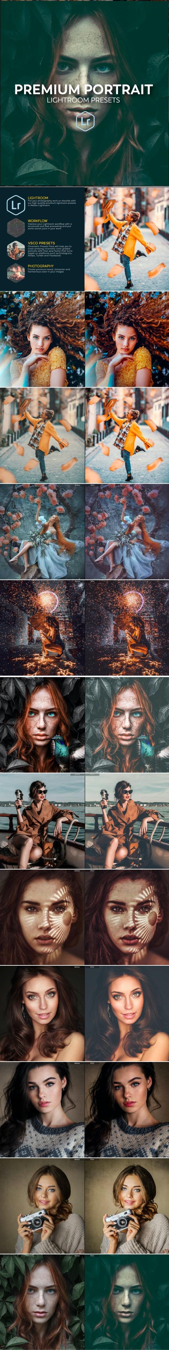 Portrait Lightroom Presets Workflow - Portrait Lightroom Presets