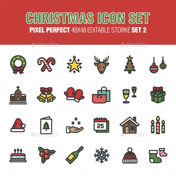 Christmas Icon Set (Set 2)