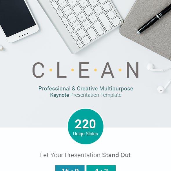 Clean Professional Business Keynote Presentation Template
