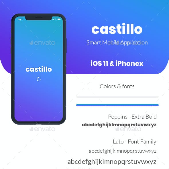 Castillo: Smart Home and Office Automation UI KIT