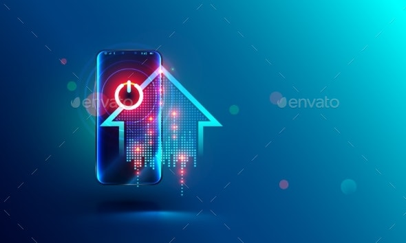 Smart Home Abstract Concept - Computers Technology