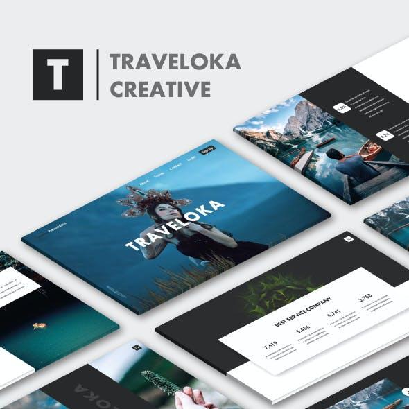 Traveloka PowerPoint Templates