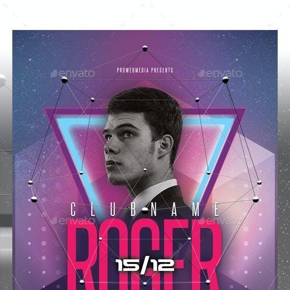 Famous DJ Flyer