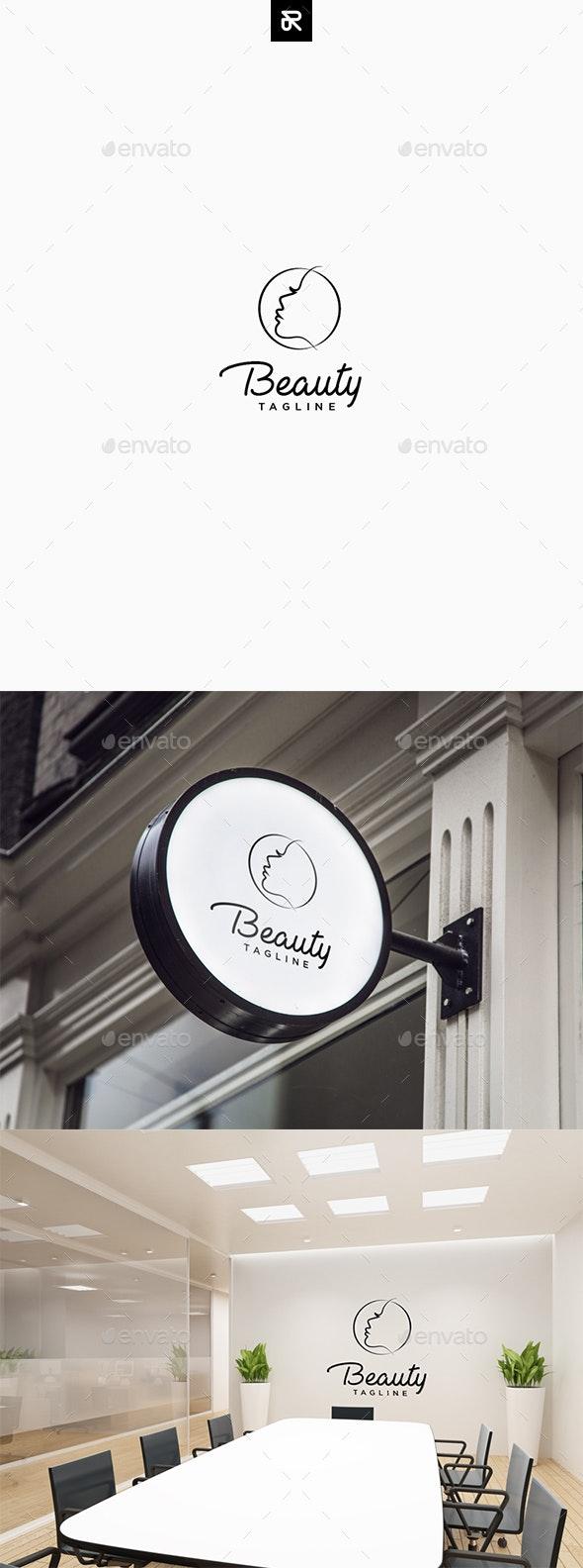 Beauty Logo - Humans Logo Templates