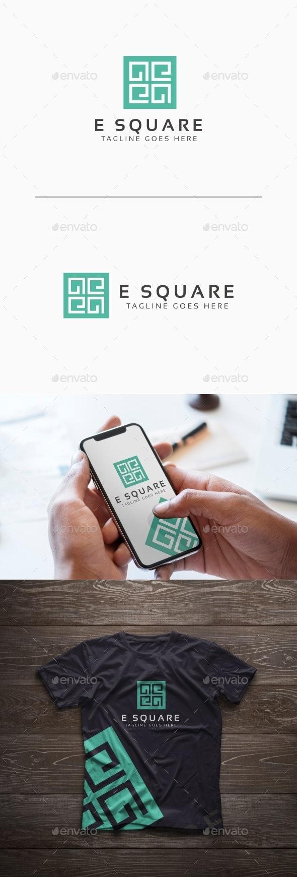 E Box Letter Logo