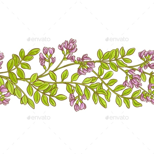 Astragalus Vector Pattern - Food Objects