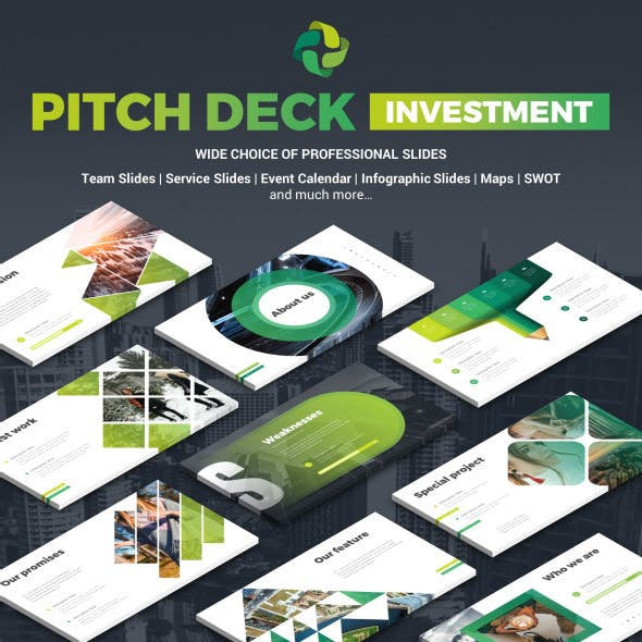 Pitch Deck Investment