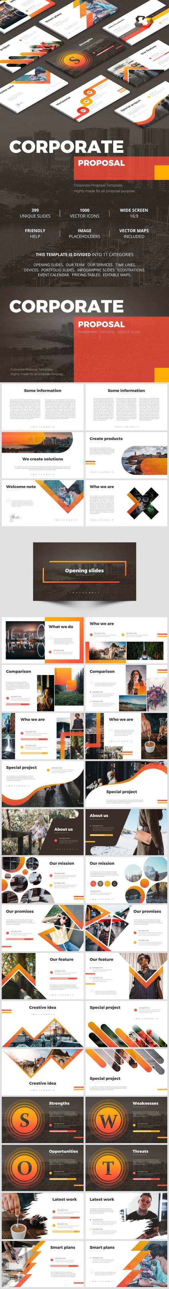 Corporate Proposal - Google Slides Presentation Templates