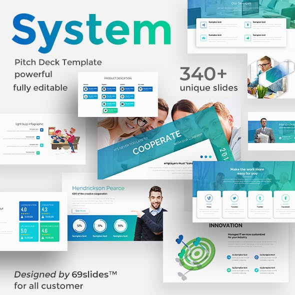 System Thinking Pitch Deck Google Slide Template