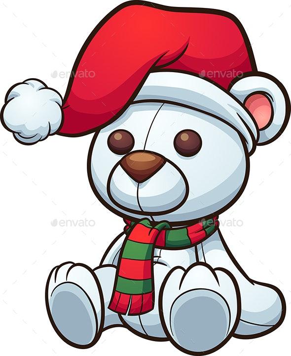 Christmas Bear - Christmas Seasons/Holidays