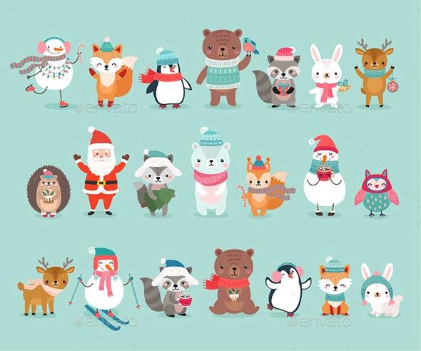 Christmas Animals - Christmas Seasons/Holidays