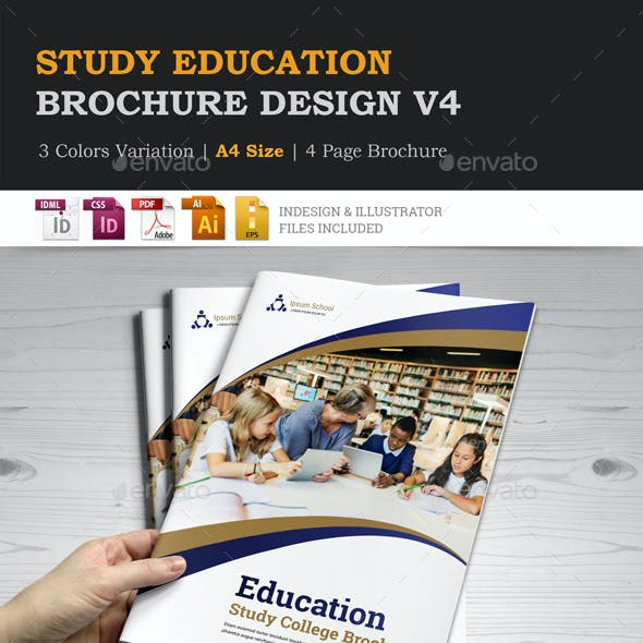 Education Brochure Indesign Template v4