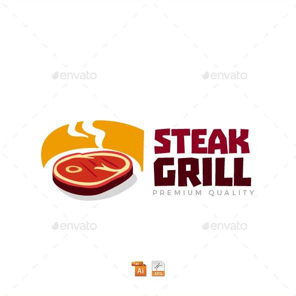 Steak Grill Logo