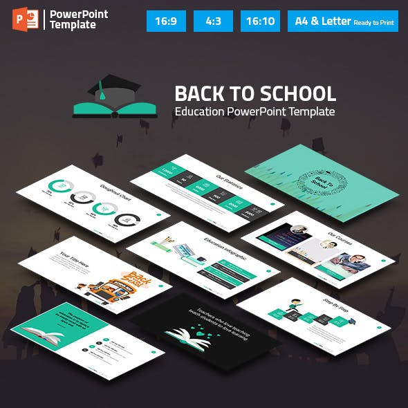 Education and Learning PowerPoint Presentation Template