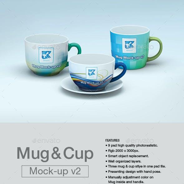 Mug & Cup Mock-up v2