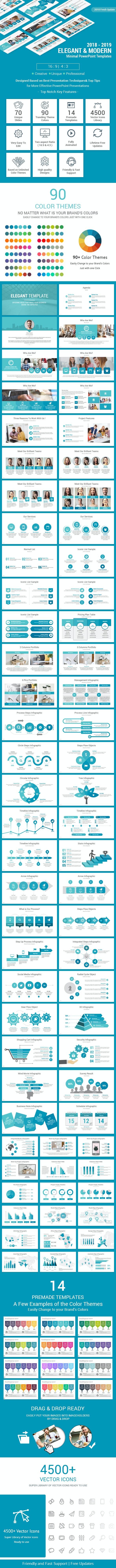 Elegant PowerPoint Presentation Template - Business PowerPoint Templates