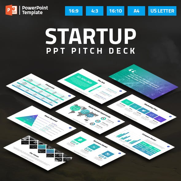 Startup Business PPT Pitch Deck
