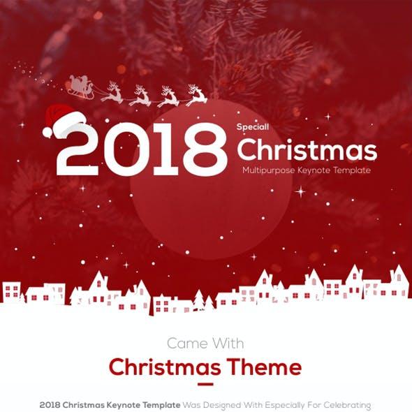 2018 Christmas Keynote Presentation Template
