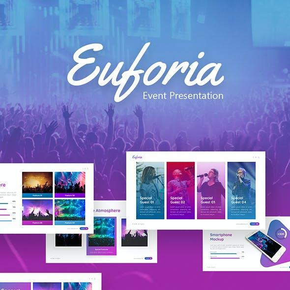 Euforia - Concert Powerpoint Template