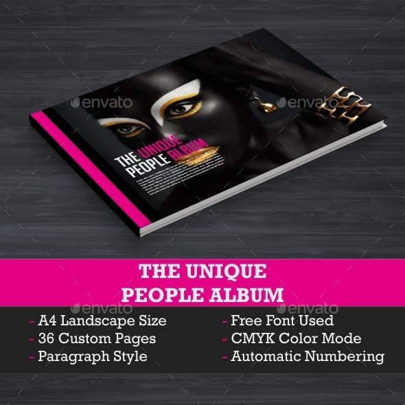 Unique Look Book