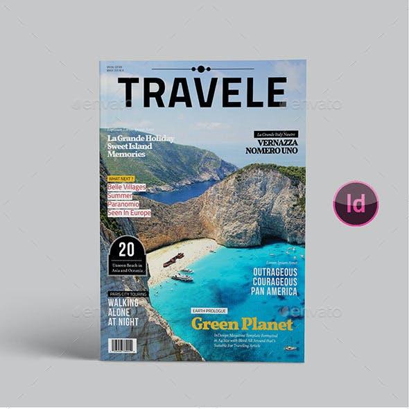 Traveling Magazine Template