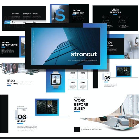 Stronaut - Creative Powerpoint Template