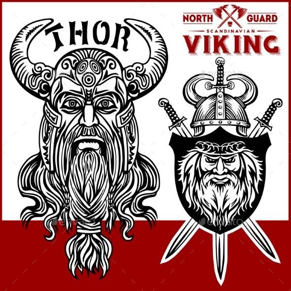 Viking Warriors - Miscellaneous Vectors