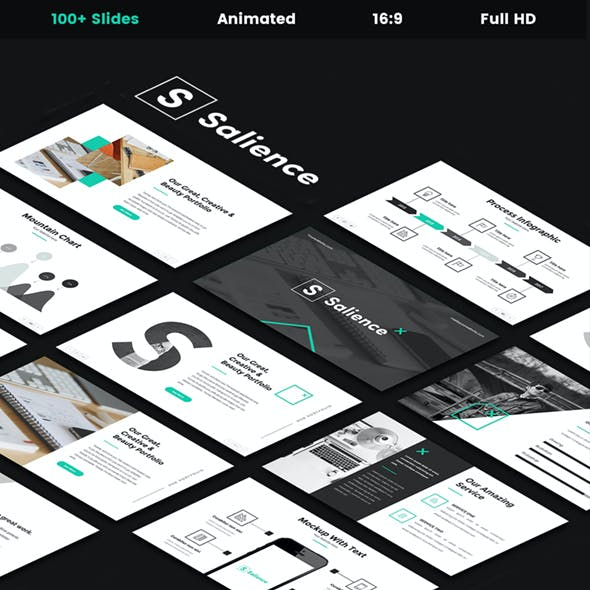 Salience - Creative Google Slides Template